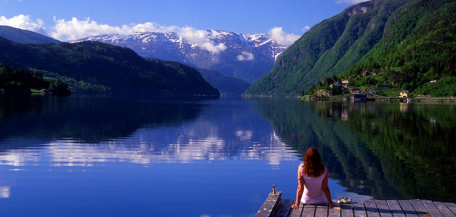 Brakanes Hotel, Ulvik, Norway - view of Ulvik fjord from hotel garden.jpg